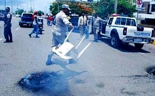 Agente de Amet mata chofer en Pintura