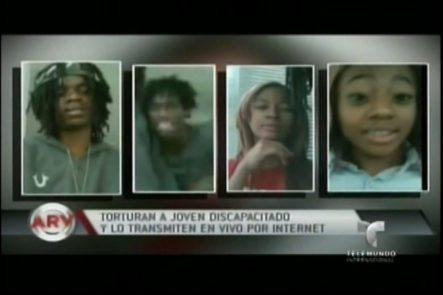 Indignantes Imágenes Donde Un Grupo De Jóvenes Torturan A Un Joven Discapacitado Y Lo Transmiten Por Facebook