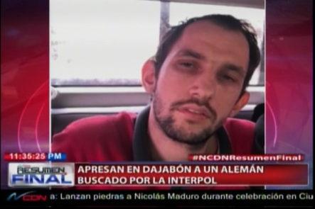 Dajabón: Apresan A Un Alemán Buscado Por La Interpol