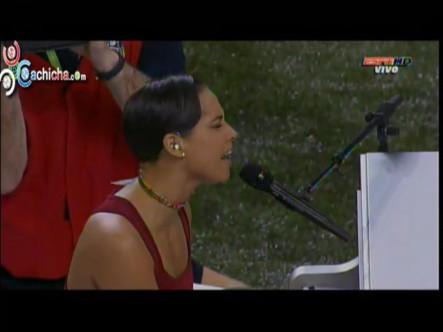 Presentación De Alicia Keys En El Super Bowl