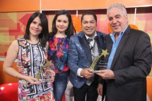 Alicia Ortega y Fernando Hasbún con el Pachá
