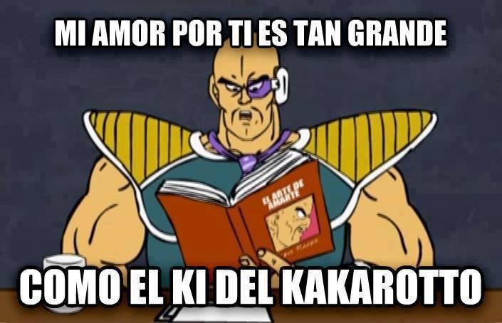 Amor al estilo Dragon Ball Z