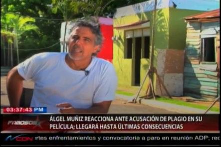 """Ángel Muníz Reacciona  Ante Acusación De Plagio En Su Película """"A Dios Que Me Perdone"""""""