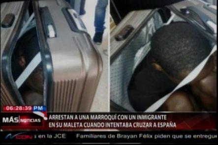 Arrestan A Una Mujer De Marruecos Con Un Inmigrante En Su Maleta Cuando Intentaba Cruzar A España