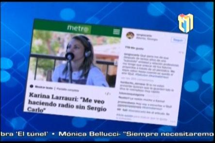 El escándalo entre Sergio Carlo y Karina Larraurí