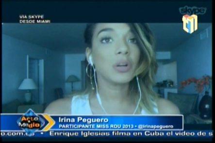 Ex Candidata A Miss RD, Irina Peguero, Pide Magalis Febles Sea Destituida Como Directora De La Organización