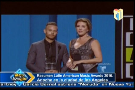 Resumen del Latin American Music Awards 2016