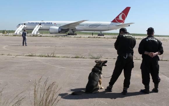 Vuelo a Turquía aterrizó por aviso de bomba
