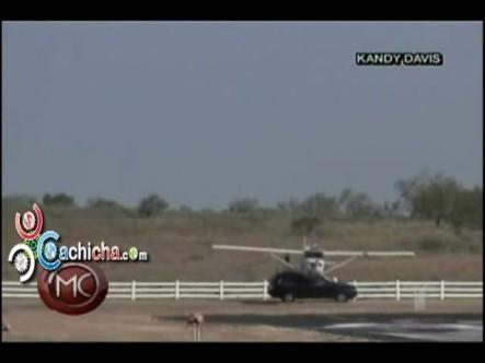 Avioneta Choca Con Una Jeepeta #Vídeo