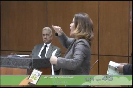 Continúa El Juicio En Contra De Awilda Reyes, ésta Exigió La Presencia De Domínguez Brito Y Del Presidente De La Suprema Corte De Justicia