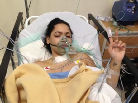 Juliana Fue Operada De Ganglios O Tumores Cancerígenos #Fotos
