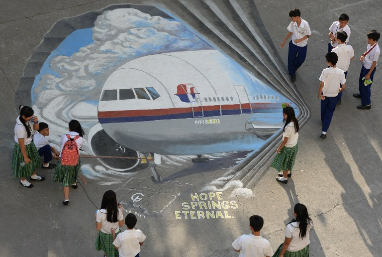 PHILIPPINES-MALAYSIA-CHINA-MALAYSIAAIRLINES-TRANSPORT-ACCIDENT