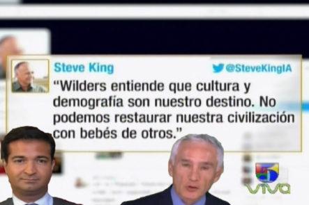 """«Al Punto» Con Jorge Ramos: """"no Podemos Restaurar Nuestra Civilización Con Bebés De Otros"""". La Frase Que Tiene A Dos Republicanos En Conflicto"""
