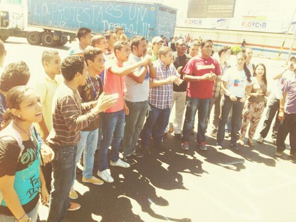 protestas en Zulia