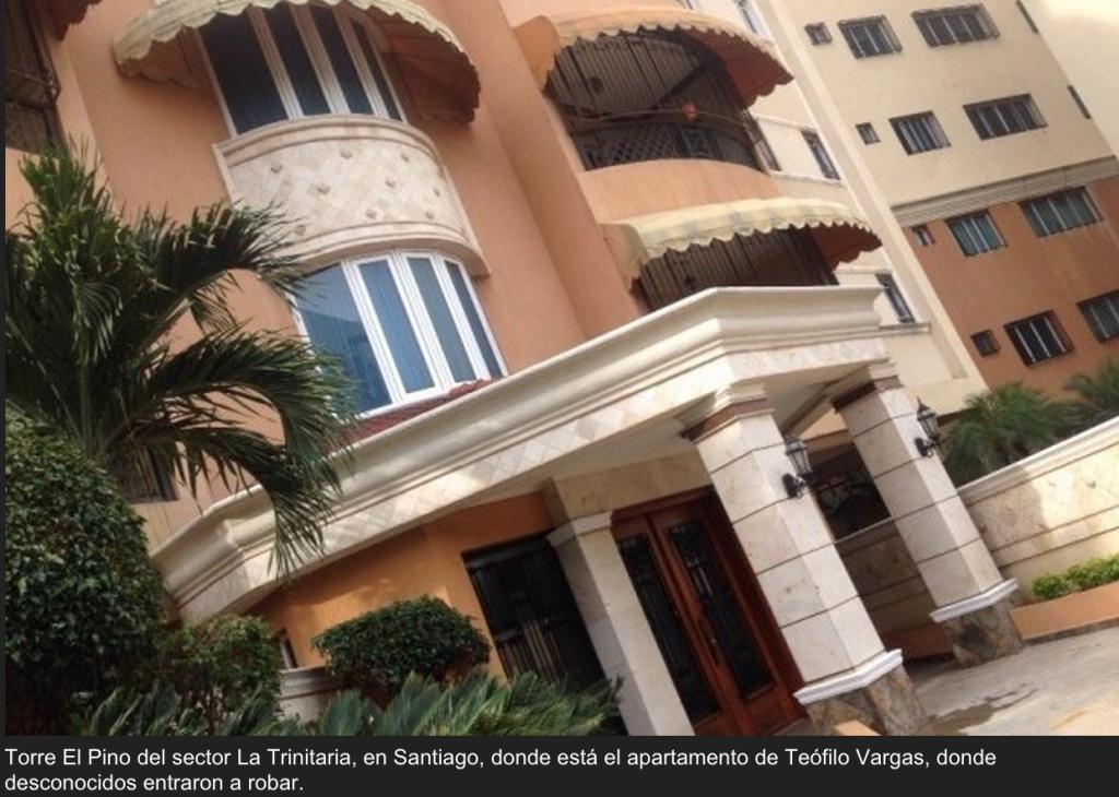 Ladrones penetran a apartamento de empresario y le llevan más de RD$2 millones