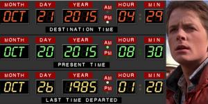 """21 de octubre, """"Back to the future day""""…"""