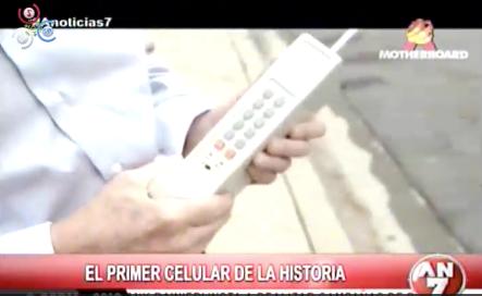 El Primer Celular De La Historia #Video