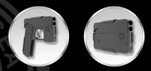 Pistola con forma de smartphone saldrá al mercado