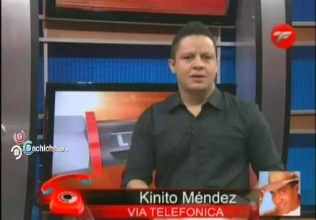 Entrevista A Kinito Méndez Con @RoberSanchez01 En @LaTuerca23