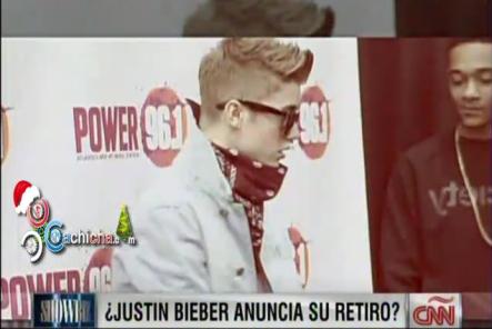Justin Bieber no se retiraría sino que haría un paro en su carrera