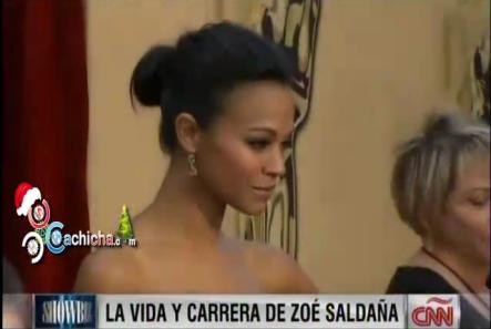 La vida y carrera de Zoé Saldaña @JuanCarlosCNN @zoesaldana