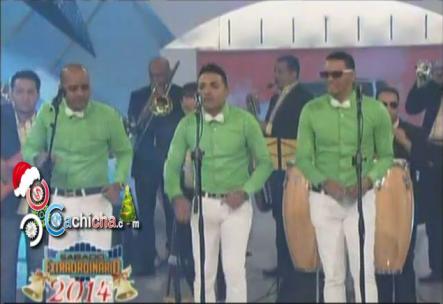 Presentación Musical De La Chiquito Team Band En @Extraordinario5