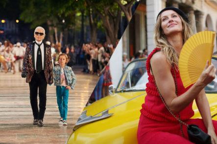 Resumen Desfile Chanel en Habana, Colombiano diseñador -Cotizao-, entrevisa a Eduardo Marturet