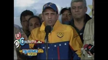 """Presidente Chávez está """"muy pendiente de Venezuela"""", informó su hija María Gabriela #Vídeo"""