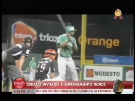 Ciriaco Fue Invitado Al Campo De Entrenamiento Con Los Indios De Cleveland #Video