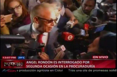 Angel Rondon Niega Usara Dinero Para Comprar Conciencia