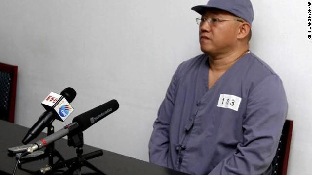 """Ciudadano estadounidense Kenneth Bae admite """"delito grave"""" contra Corea del Norte"""