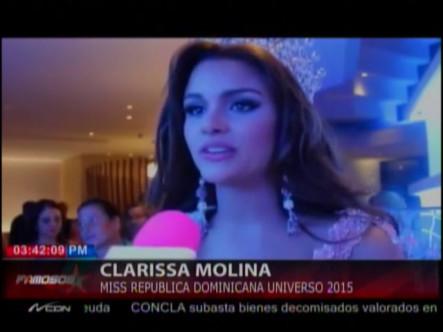 Clarissa Molina Es Coronada Como Miss República Dominicana 2015 #Video
