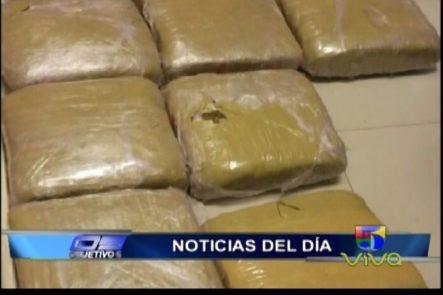 NCDN Detiene Mujer Intentó Pasar Aduanas Con 70+ Libras De Marihuana
