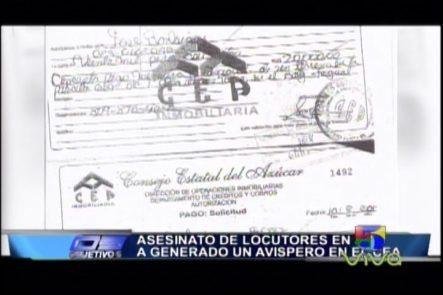 Asesinato De Locutores En SPM A Generado Una Avispero En El CEA
