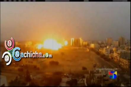 Israel Multiplica Con Cientos De Ataques El Bombardeo A Gaza #Vídeo