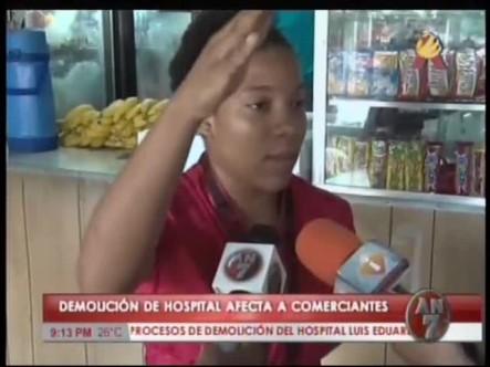 Comerciantes Dicen Demolición Del Luis Aybar Les Afecta #Video