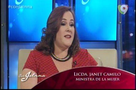 Entrevista A La Ministra De La Mujer, Janet Camilo Con Jatnna Tavarez