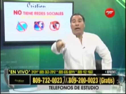 """Cristian Casablanca Habla De Las Mujeres """"del Medio"""" Que Se La Buscan"""
