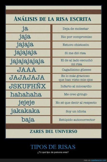 ¿Cuál risa usas? xD #LaImagenDelDia