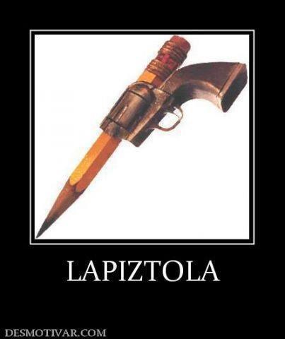 Cuidado con la pistola #LaImagenDelDia