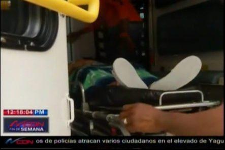 Dan De Alta A Secretaria Herida En Emisora De San Pedro De Macorís