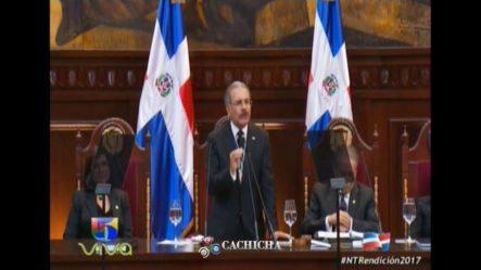 Discurso De Danilo Medina 2017, De Odebrecht En Adelante