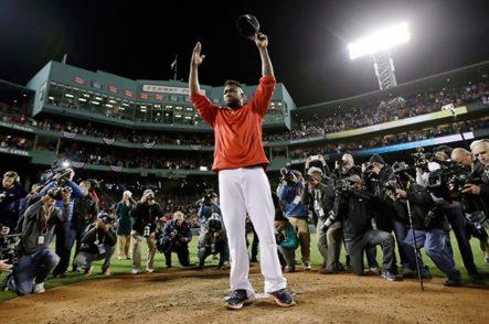 David Ortiz, entre lágrimas, se despidió de las Grandes Ligas