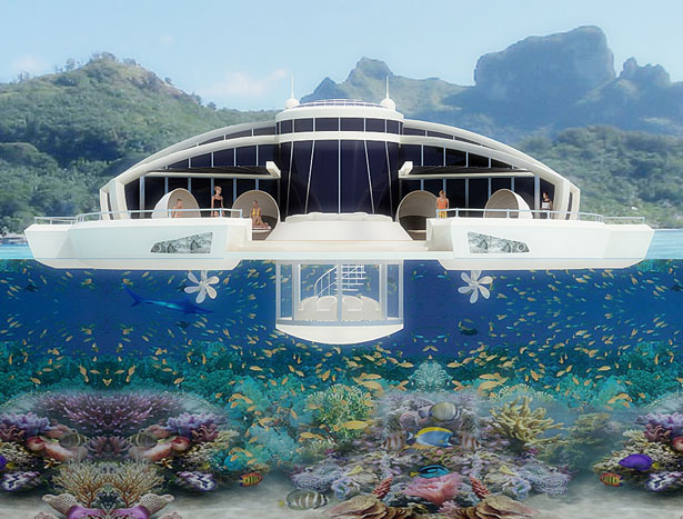 Design-Solar-Floating-Resort-Yacht