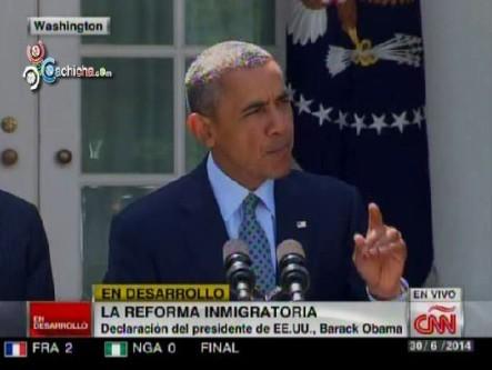 "Discurso De Barack Obama: ""La Reforma Inmigratoria"""