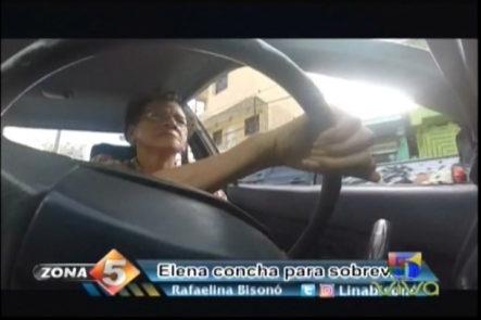 Zona 5: La Historia De Doña Elena, Tiene Más De 15 Años Siendo Chofer De Carro Concho