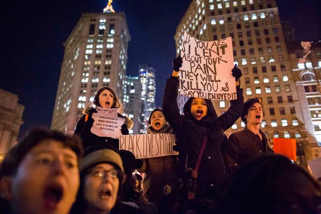 EE UU Protestas