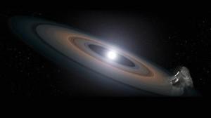 El Hubble detecta enanas blancas contaminadas con restos de planetas