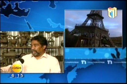 El Creador De La Réplica De La Torre Eiffel Dijo Que No Es Conveniente El Lugar Donde Se Encuentra