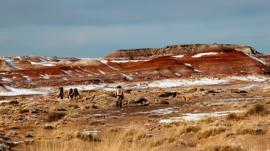 El grupo de gente que ya vive en la superficie de Marte